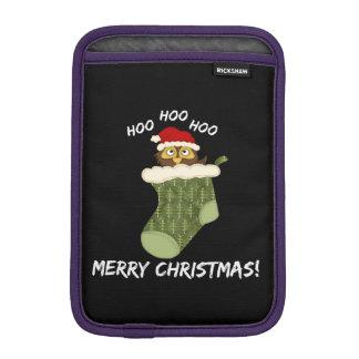 OwlHooHooChristmas iPad Mini Sleeve