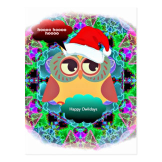 Owliday Magic gifts Post Cards