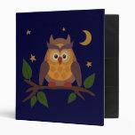 Owlie 3 Ring Binders
