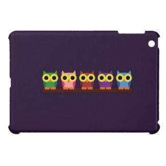 OWLIE BOO - Colorful owls iPad Mini Case