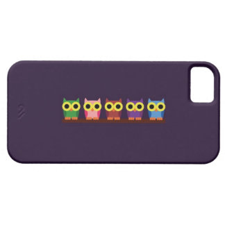 OWLIE BOO - Colorful owls iPhone SE/5/5s Case