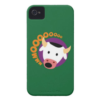 OWLIE BOO - Cow Case-Mate iPhone 4 Cases