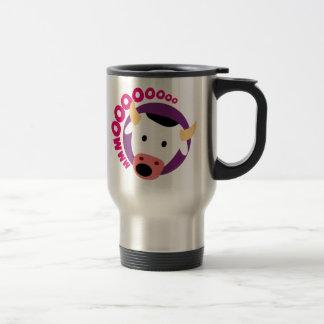 OWLIE BOO - Cow Travel Mug