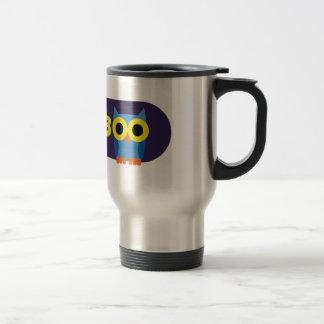 OWLIE BOO - Logo Travel Mug