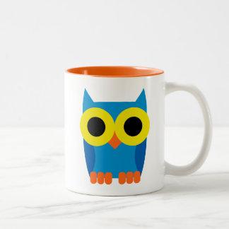 OWLIE BOO Two-Tone COFFEE MUG