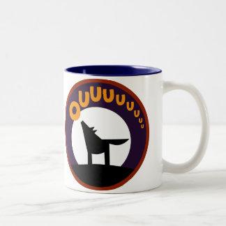 OWLIE BOO - Wolf Two-Tone Coffee Mug
