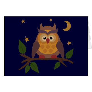 Owlie Card