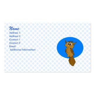 Owlie Owl Business Card Templates