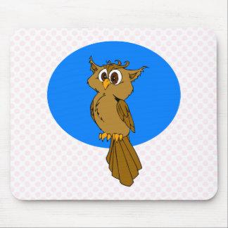 Owlie Owl Mouse Pad