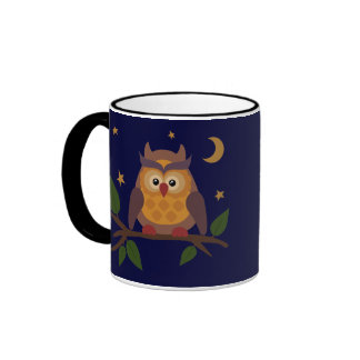 Owlie Ringer Mug