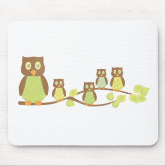 Owlies Mouse Pad
