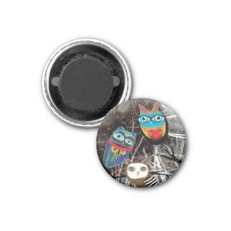 Owlies Owl Owly Owls Fridge Magnet
