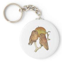 Owling Around Keychain