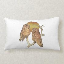 Owling Around Lumbar Pillow