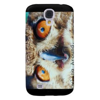 Owling Around Samsung Galaxy S4 Cases