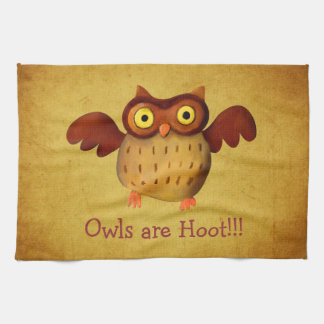 ¡Owling es pitido! Toallas