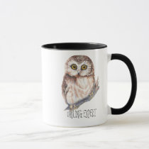 Owling  Expert, Funny Little Owl Mug