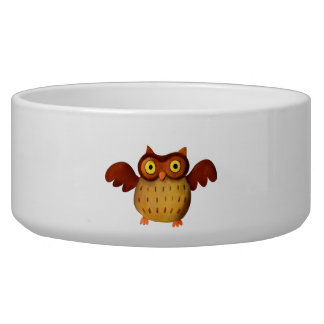 Owling is Hoot! Dog Bowl