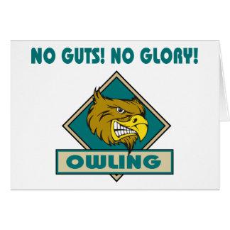 Owling No Guts! No Glory! Gift Card