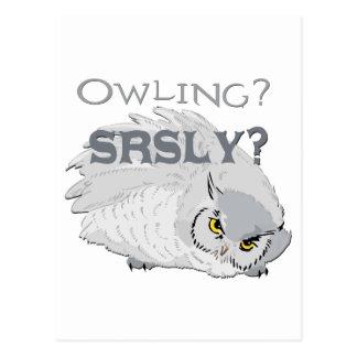 Owling seriamente postal