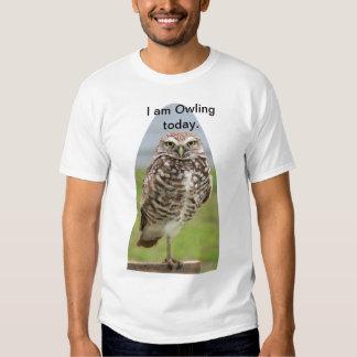 Owling Tee, Burrowing Owl T-Shirt