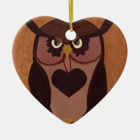 owlloveyouforever2010 ornament/pendant ceramic ornament