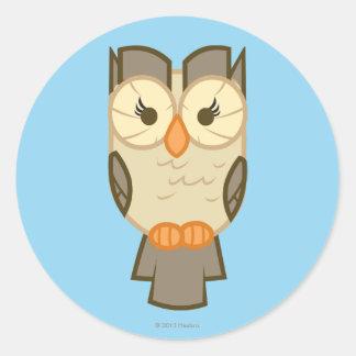 Owlowiscious Twilight Sparkle's Sidekick Classic Round Sticker