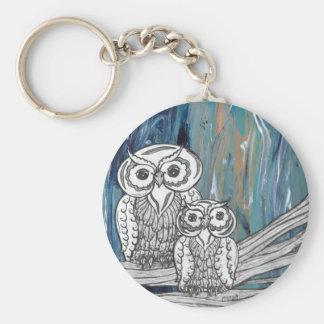 Owls1 keychain