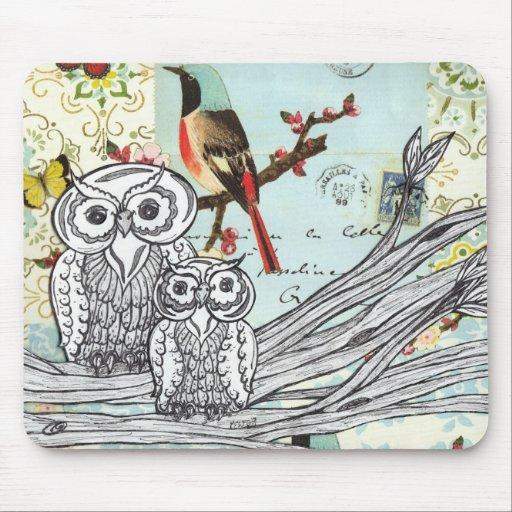 Owls20 Mousepad