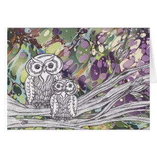 Owls21Card Card