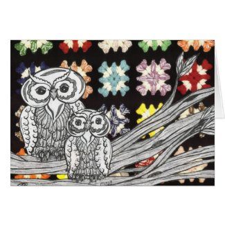 Owls3 Gift card card