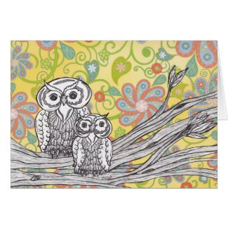 Owls 03 card
