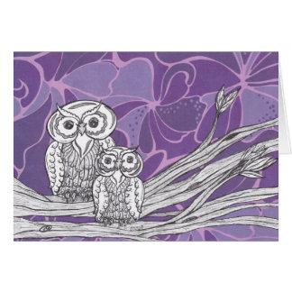 Owls 09 Card