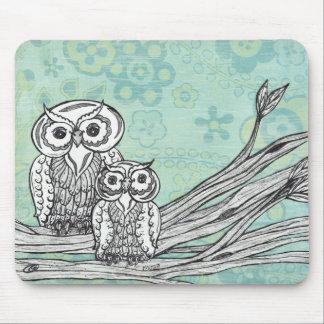 Owls 102 mousepad