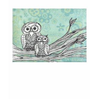 Owls 102 T-shirt shirt