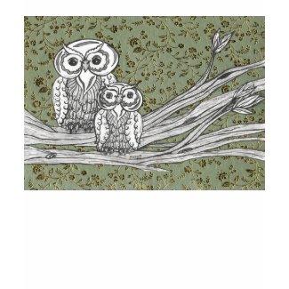Owls 10 T Shirt shirt