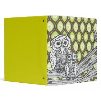 Owls 11 Binder binder