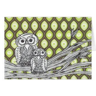 Owls 11 Card