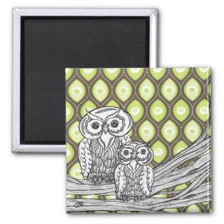 Owls 11 Magnet