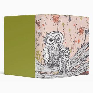 Owls 15 Binder