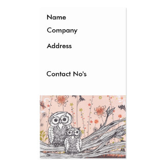 Owls 15 Business Cards