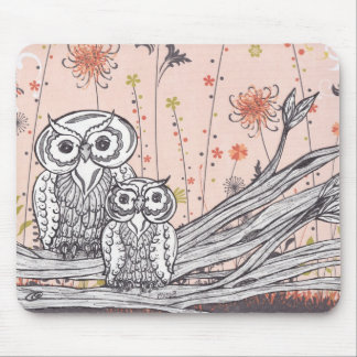 Owls 15 Mousepad