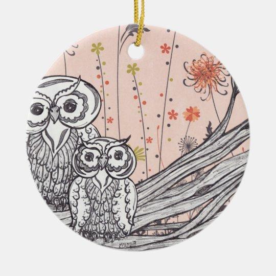 Owls 15 Ornament