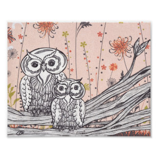 Owls 15 Print