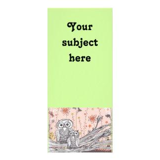 Owls 15 Rack Cards
