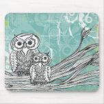 Owls 16 Mousepad