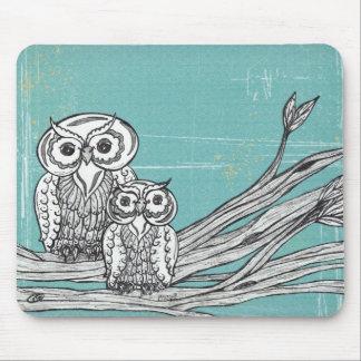 Owls 18 Mousepad