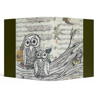 Owls 22 binder
