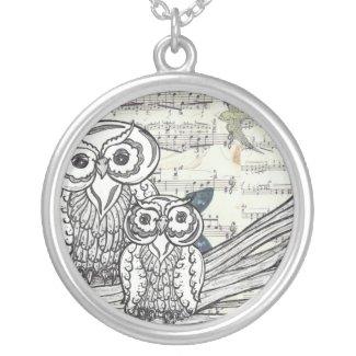 Owls 22 Necklace necklace