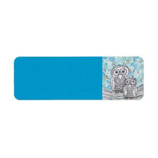 Owls 28 label